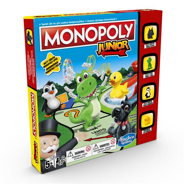 Monopoly Junior (SE/FI)