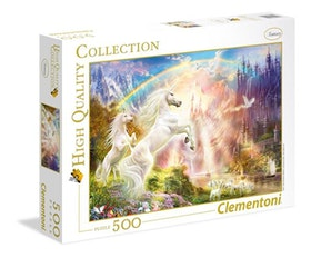 Clementoni High Quality Collection - Sunset Unicorns (500 bitar)