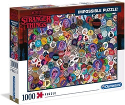 Clementoni Impossible Collection - Stranger Things (1000 bitar)