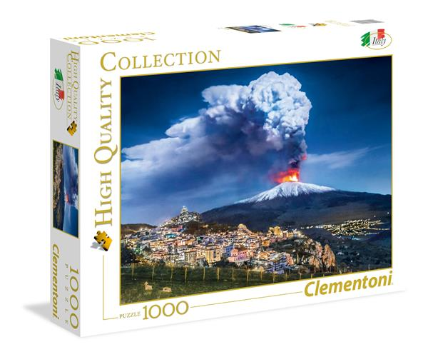 Clementoni High Quality Collection - Etna (1000 bitar)