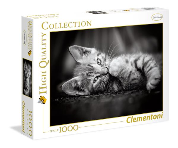 Clementoni High Quality Collection - Kitty (1000 bitar)