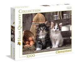Clementoni High Quality Collection - Lovely Kittens (1000 bitar)