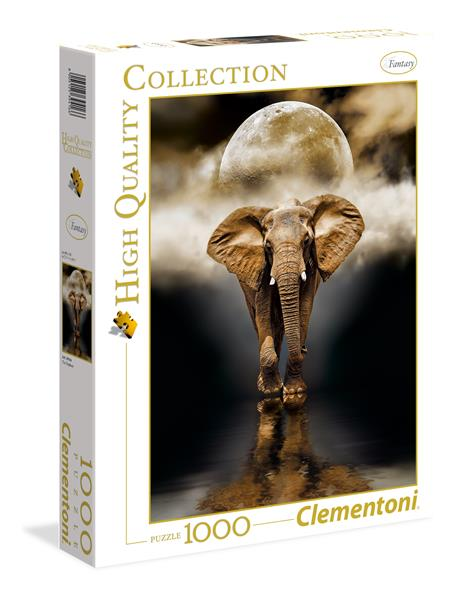 Clementoni High Quality Collection - The Elephant (1000 bitar)