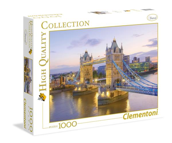 Clementoni High Quality Collection - Tower Bridge (1000 bitar)