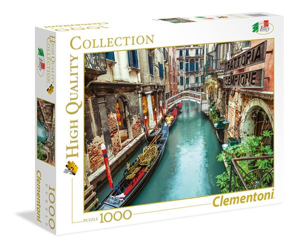 Clementoni High Quality Collection - Venice Canal (1000 bitar)