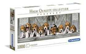 Clementoni High Quality Collection Panorama - Beagles (1000 bitar)