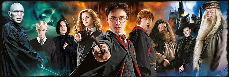 Clementoni High Quality Collection Panorama - Harry Potter (1000 bitar)