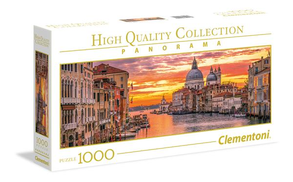 Clementoni High Quality Collection Panorama - The Grand Canal Venice (1000 bitar)