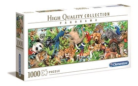 Clementoni High Quality Collection Panorama - Wildlife (1000 bitar)