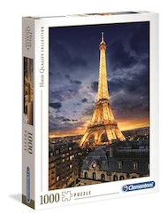 Clementoni High Quality Collection - Eiffel Tower (1000 bitar)