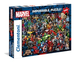 Clementoni Impossible Collection - Marvel Avengers (1000 bitar)
