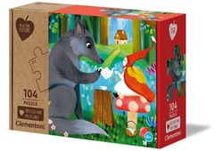 Clementoni Play For Future Puzzles Kids Pussel - Change Your Disposition (104 bitar) (100% återvunnet material)