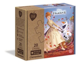 Clementoni Play For Future Puzzles Kids Pussel - Disney Frozen 2 (2x20 bitar) (100% återvunnet material)