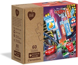 Clementoni Play For Future Puzzles Kids Pussel - Cars (60 bitar) (100% återvunnet material)