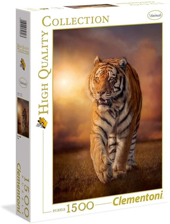 Clementoni High Quality Collection - Tiger (1500 bitar)