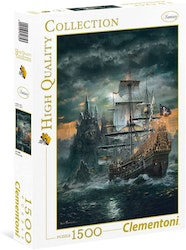 Clementoni High Quality Collection - The Pirate Ship (1500 bitar)
