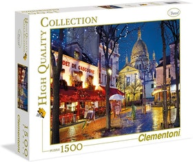 Clementoni High Quality Collection - Paris Montmartre (1500 bitar)