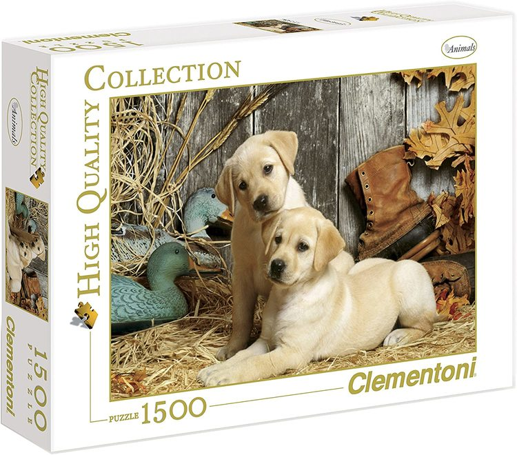Clementoni High Quality Collection - Hunting Dogs (1500 bitar)