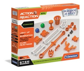 Clementoni Action & Reaction Accessories Extra delar