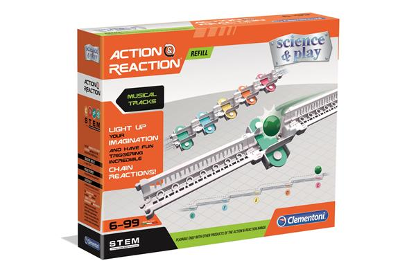 Clementoni Action & Reaction Musical Tracks Expansion