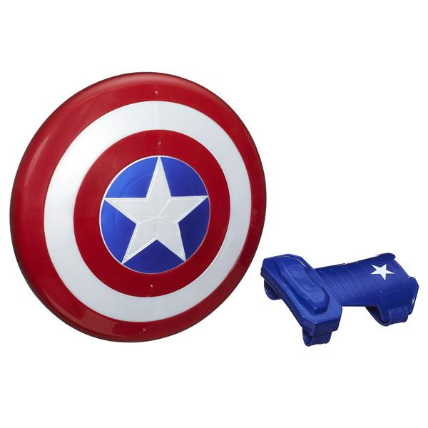 Marvel Avengers Captain America Magnetic Shield & Gauntlet - Sköld och Handske