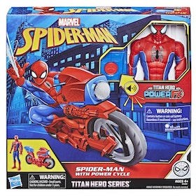 Marvel Spiderman Titan Hero Power Pack Cycle Actionfigur