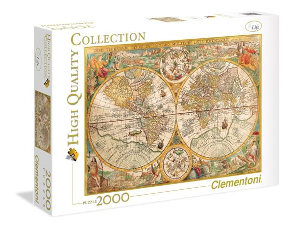 Clementoni High Quality Collection - Ancient Map (2000 bitar)