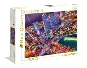 Clementoni High Quality Collection - Las Vegas (2000 bitar)