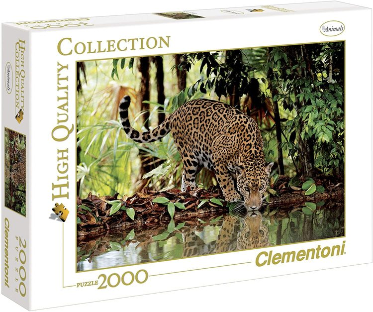 Clementoni High Quality Collection - Leopard (2000 bitar)