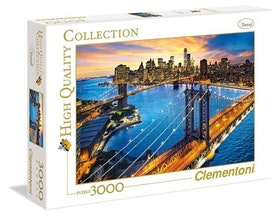 Clementoni High Quality Collection - New York (3000 bitar)