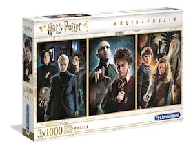 Clementoni High Quality Collection - Harry Potter (3x1000 bitar)