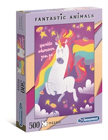 Clementoni Fantastic Animals - Unicorn (500 bitar)
