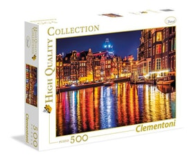 Clementoni High Quality Collection - Amsterdam (500 bitar)