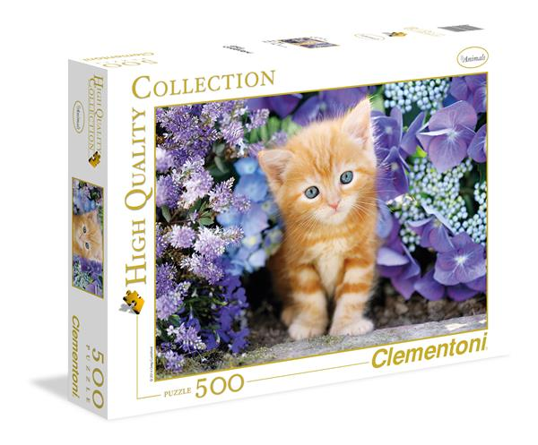 Clementoni High Quality Collection - Ginger Cat (500 bitar)