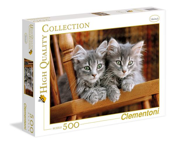 Clementoni High Quality Collection - Kittens (500 bitar)