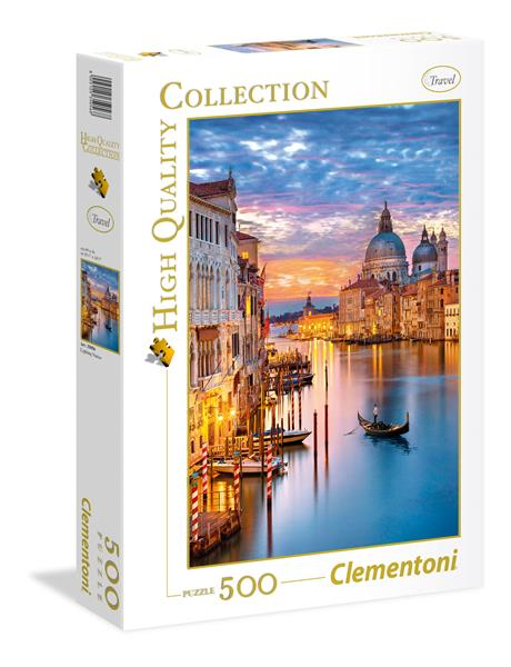 Clementoni High Quality Collection - Lighting Venice (500 bitar)