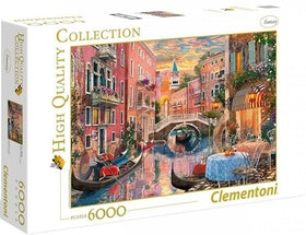 Clementoni High Quality Collection - Venice Evening Sunset (6000 bitar)