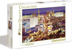 Clementoni High Quality Collection - Las Vegas (6000 bitar)