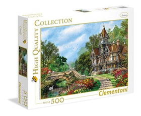 Clementoni High Quality Collection - Old Waterway Cottage (500 bitar)
