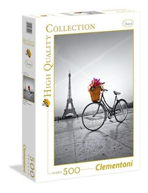 Clementoni High Quality Collection - Romantic Promenade In Paris (500 bitar)