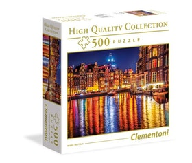 Clementoni High Quality Collection Square - Amsterdamn (500 bitar)