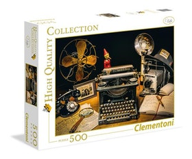 Clementoni High Quality Collection Square - The Typewriter (500 bitar)