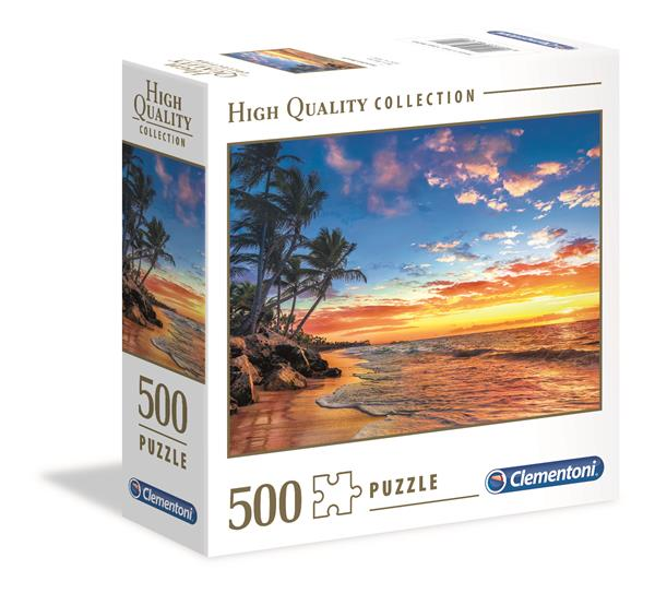 Clementoni High Quality Collection Square - Paradise Beach (500 bitar)