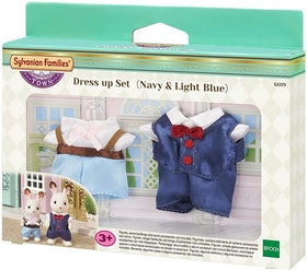 Sylvanian Families Town Series Dress up Set (Navy & Light Blue) 6019