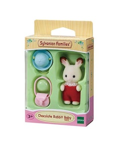 Sylvanian Families Chocolate Rabbit Baby 5405