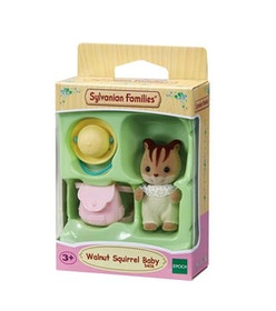 Sylvanian Families Walnut Squirrel Baby 5406