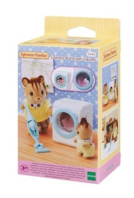 Sylvanian Families Laundry & Vacuum Cleaner 5445