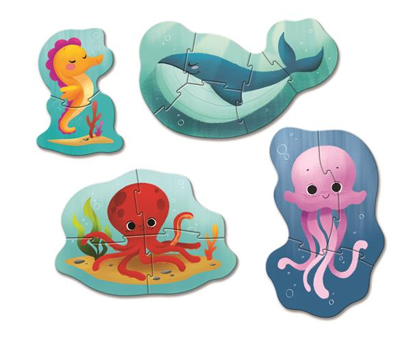 Clementoni Play For Future My First Puzzle Pussel - Sea Life (100% återvunnet material)