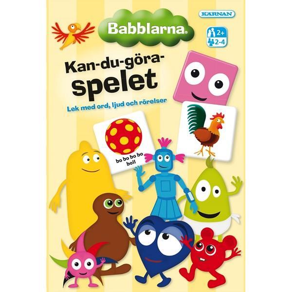Kärnan Babblarna Kan-Du-Göra Barnspelet