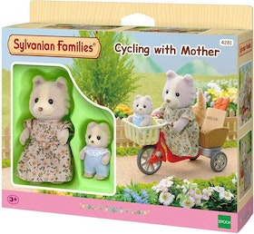 Sylvanian Families Cycling with Mother 4281